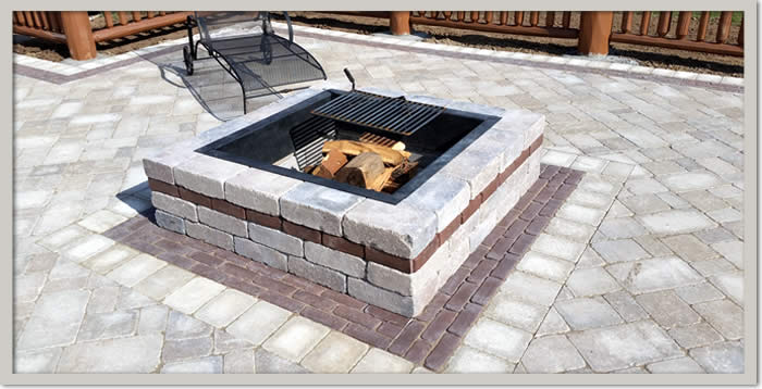 Stone Fire Pits Wisconsin